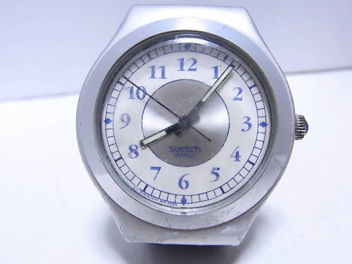 【時計】 SWATCH:スウォッチ Irony:アイロニー AG1995 メンズ 3針 電池交換済:稼働品_画像1