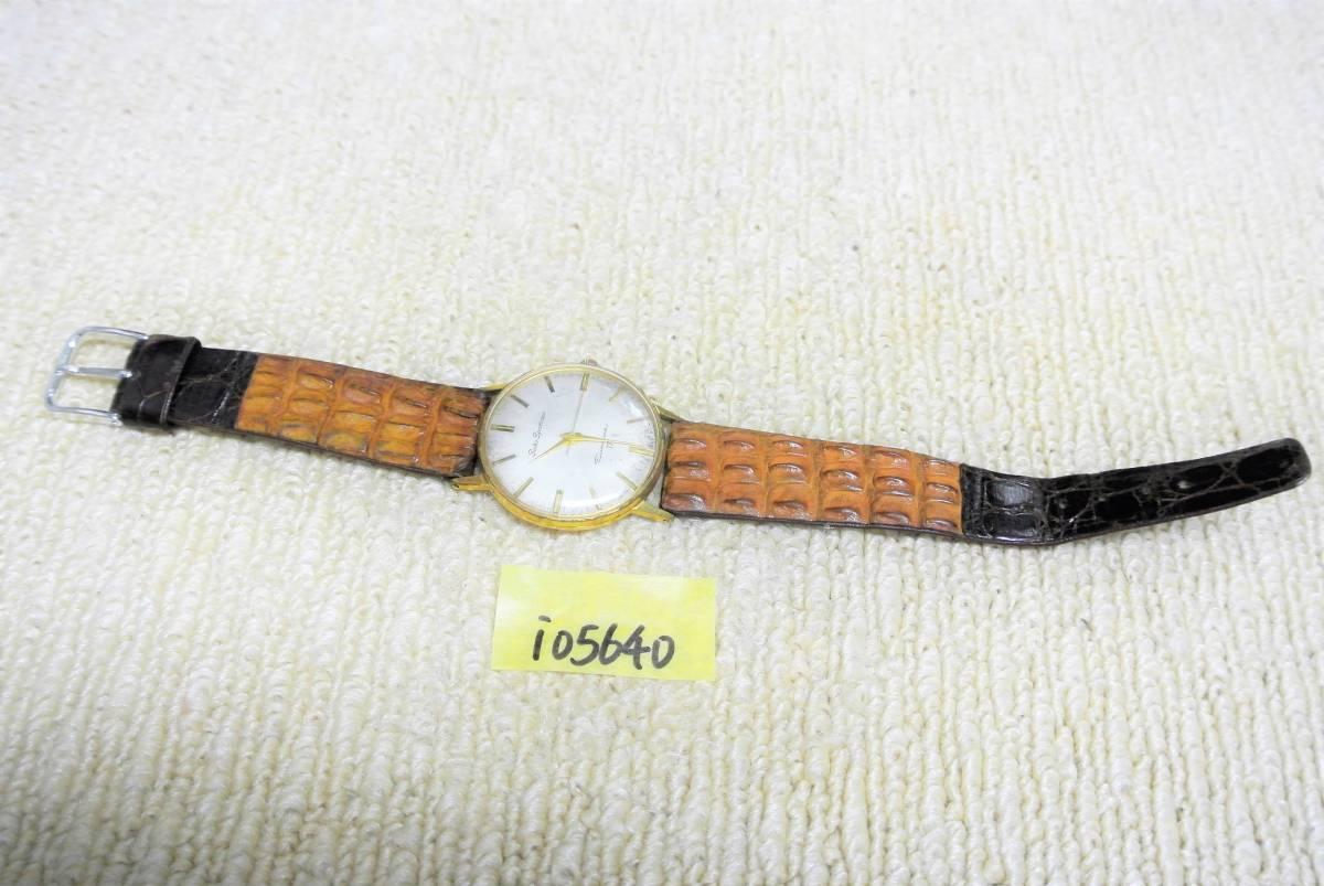 セイコー SEIKO SPORTSMAN Diashock 17 メンズ 手巻 腕時計 i05640