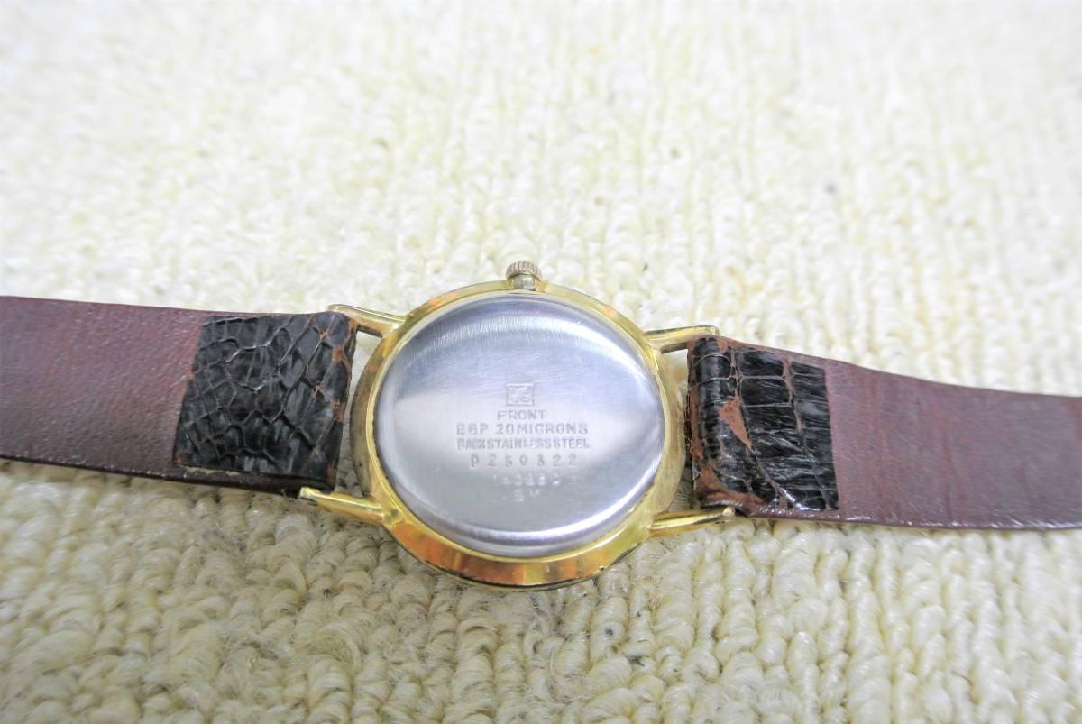 セイコー SEIKO SPORTSMAN Diashock 17 メンズ 手巻 腕時計 i05640_画像4