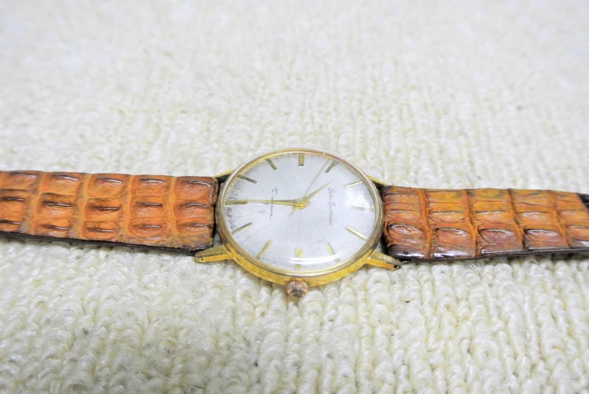 セイコー SEIKO SPORTSMAN Diashock 17 メンズ 手巻 腕時計 i05640_画像5