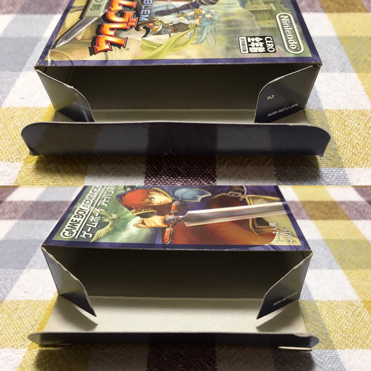 GBA ファイアーエムブレム 烈火の剣 ゲームボーイアドバンス 動作確認済み 送料200円 B_画像3