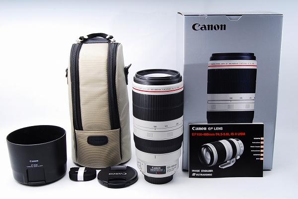 ★極美品★Canon キヤノン EF 100-400mm F4.5-5.6 L IS USM Ⅱ★元箱付★