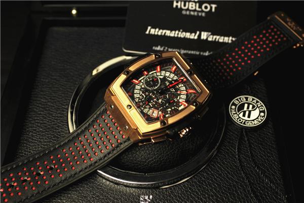 ウブロ スピリット オブ ビッグバン キングゴールド 601.OX.0183.LR 新品 メンズ 腕時計