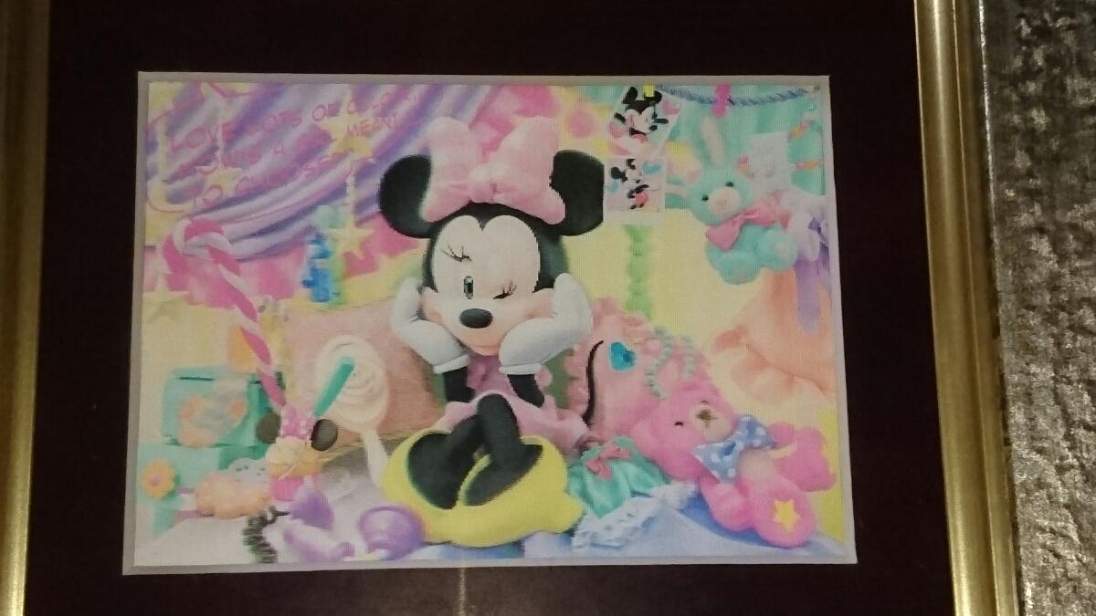 ミニーマウス絵 ディズニーグッズの画像