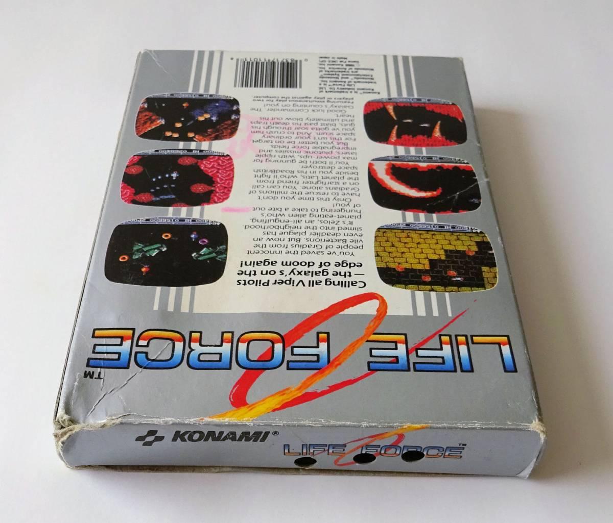 NES ★ 沙羅曼蛇 LIFE FORCE (Konami) ★ 海外版 FC 用ソフト_画像2