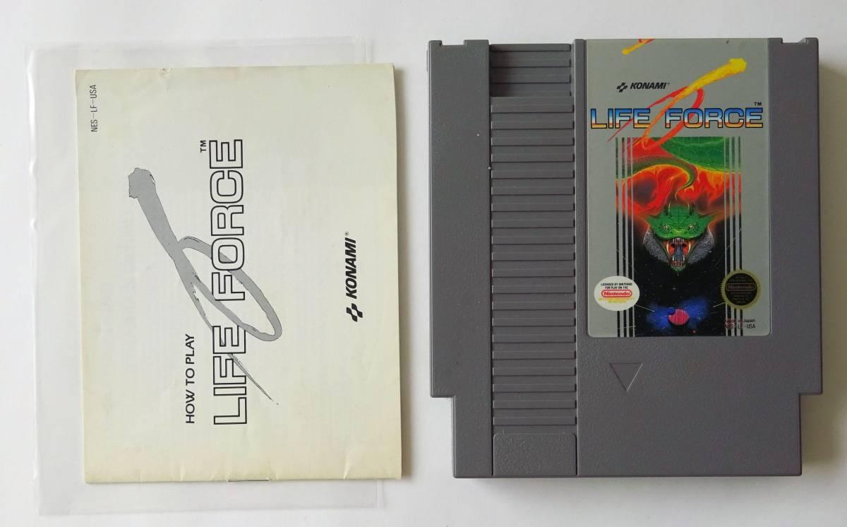 NES ★ 沙羅曼蛇 LIFE FORCE (Konami) ★ 海外版 FC 用ソフト_画像3