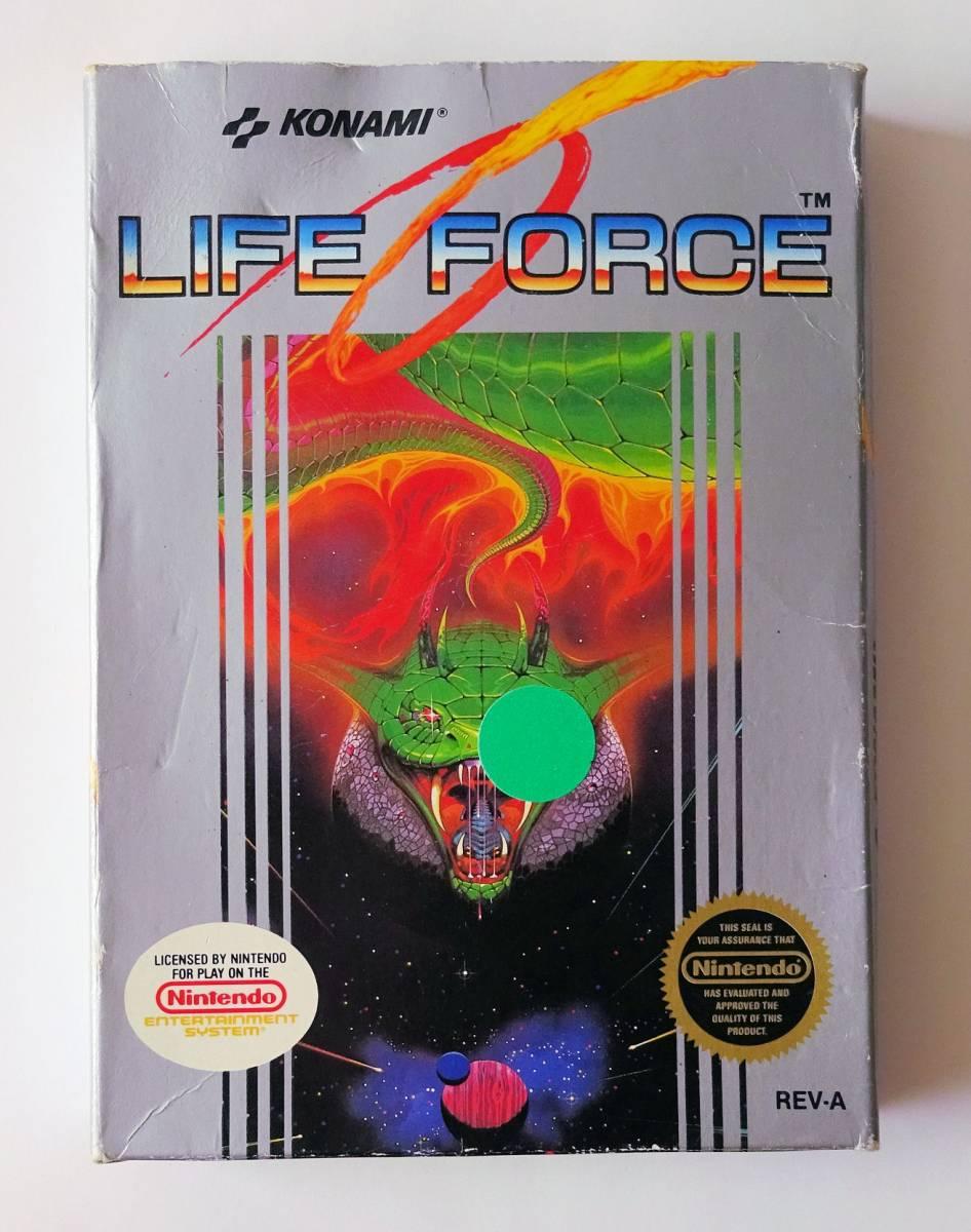 NES ★ 沙羅曼蛇 LIFE FORCE (Konami) ★ 海外版 FC 用ソフト