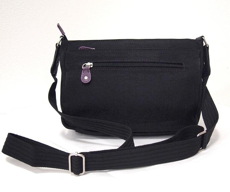 ショルダーバッグ nicolettamoretti ニコレッタモレッティ 軽量 斜め掛け レディース 黒 /ブラック 日常はっ水加工 シニア 軽い かばん 鞄_画像5