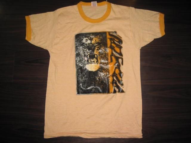 ★ビンテージ サンタナ 1stアルバム Tシャツ ラッセル70~80年代前半タグ★Santana