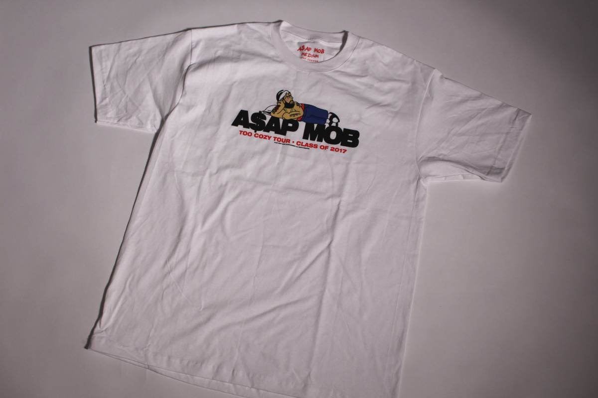 A$AP Mob Too Cozy Tour 2017 Tシャツ Asap Yams Asap Rocky MADE IN USA