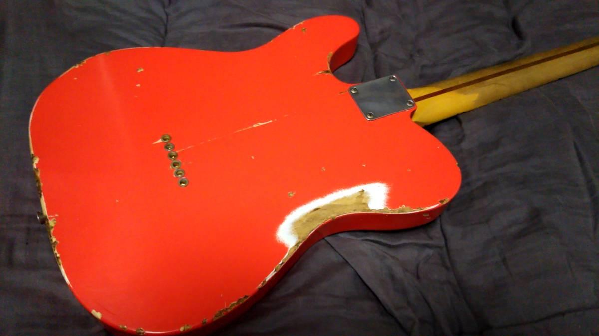 Nash guitars T-57・ナッシュギターズ・オーダーワンオーナー物・美品_画像2