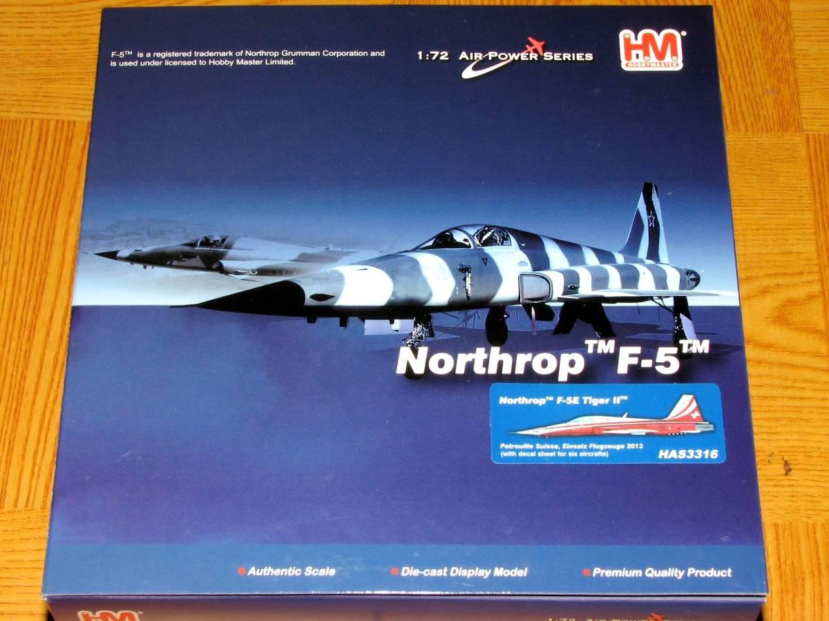 ■即決ホビーマスター 1/72【F-5E タイガー2 スイス空軍 パトルイユ・スイス・スペシャル_画像4