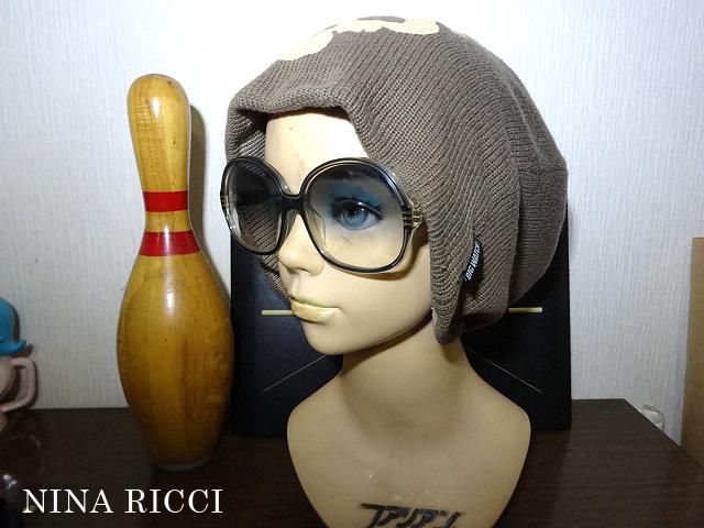 【未使用・送料無料】60's NINA RICCI PARIS ニナリッチ サングラス レトロ デッドストック 古着 70'sパリス