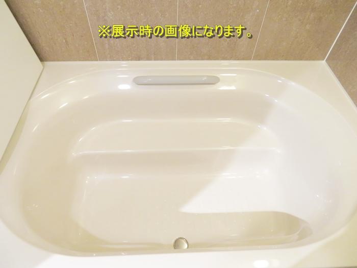 N091201 展示品 リクシル システムバスルーム キレイユ 浴槽/幅1620mm 壁/石目調ベージュ BNDS-1620TBP 参考定価 \1625600 扉割れ有り_画像2