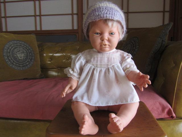 古いベビードール*人形*スペイン製*BERJUSA社*リアルドール