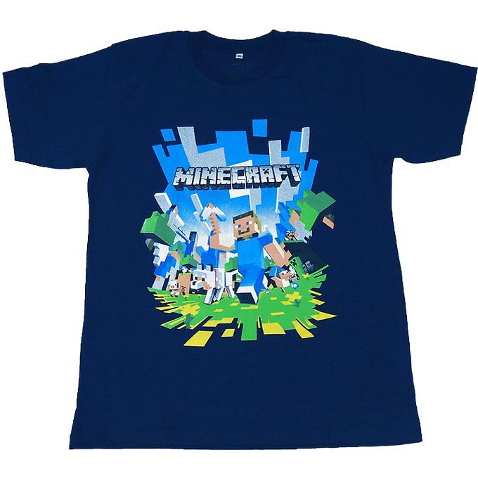 Minecraft/マインクラフト/ゲーム/キャラクター/ブルーM グッズの画像
