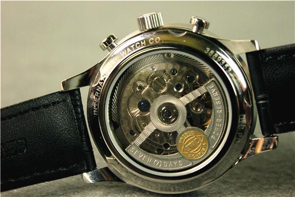 【美品】IWC ポルトギーゼ IW371447 自動巻き ブラック メンズ高級時計_画像2