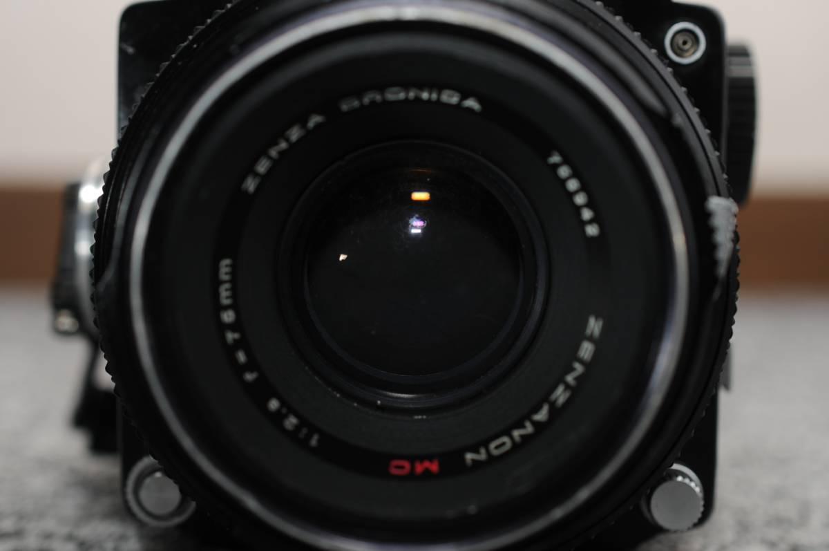 ZENZA BRONICA ゼンザブロニカ ETR ZENZANON MC 75mm F2.8_画像3
