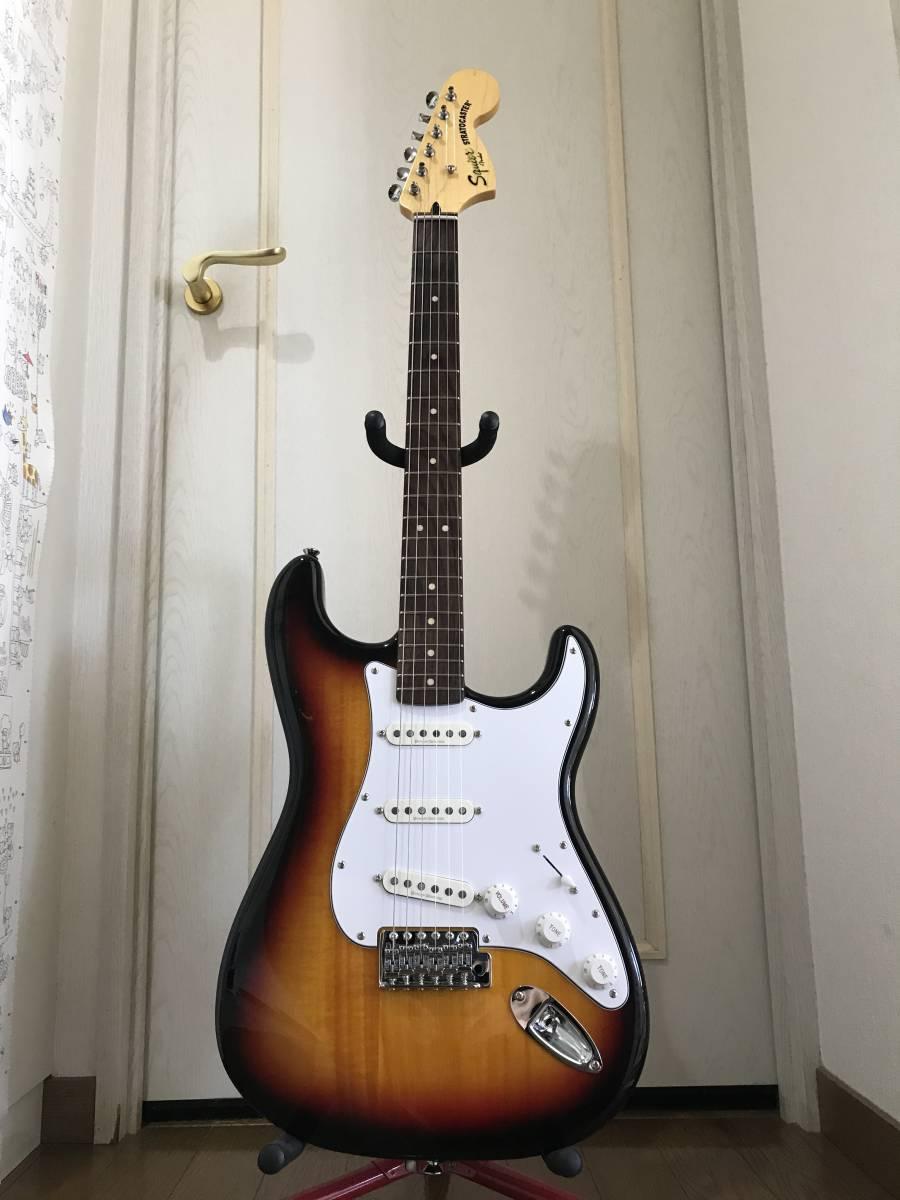 【ダンカンデザインPU搭載】SQUIER Vintage Modified Stratocaster_画像2
