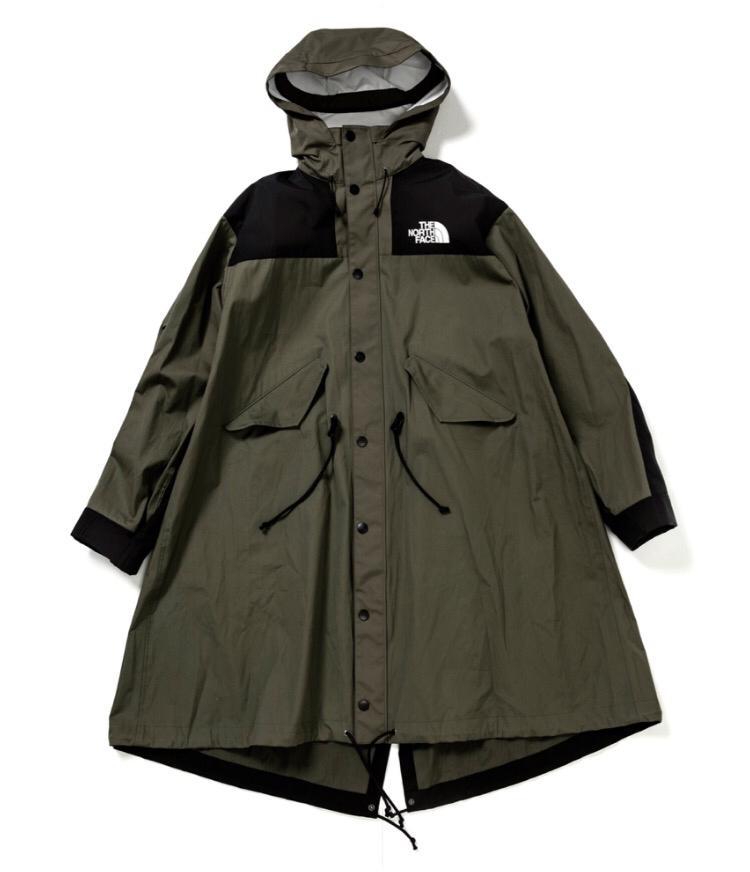 伊勢丹購入国内正規 サイズ2 M Sacai The North Face men's Long Coat kahki コート メン