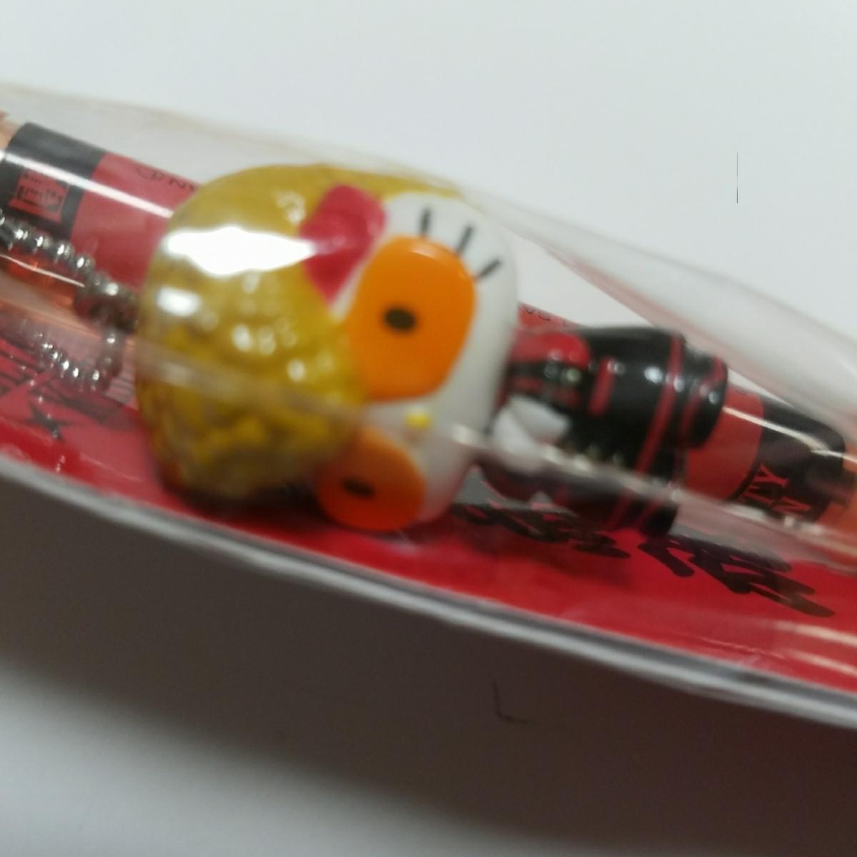 【激レア☆コラボ☆氣志團☆氣帝團】キティ ボールペン ライブグッズの画像