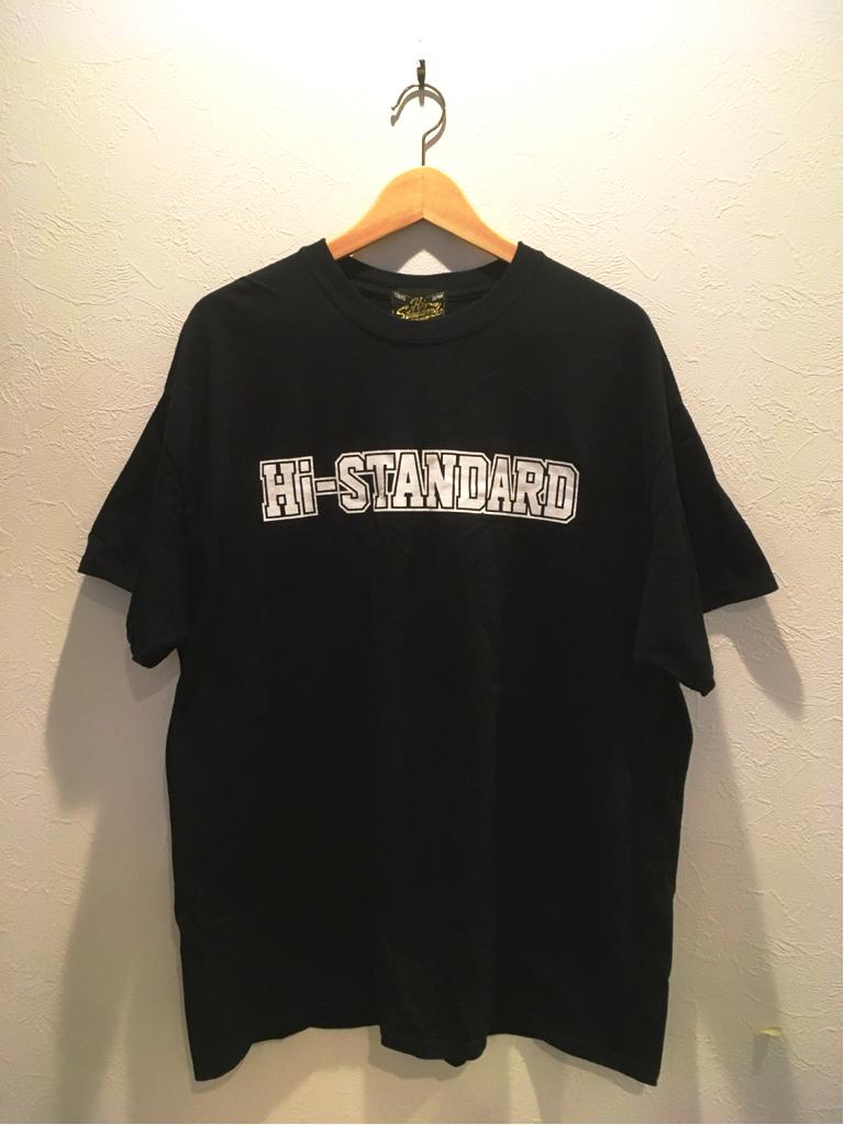【1円スタート】Hi-STANDARD 『FAT WRECK CHORDS』Tシャツ 黒 XL 新品未使用 ハイスタンダード ハイスタ 送料164円 ライブグッズの画像
