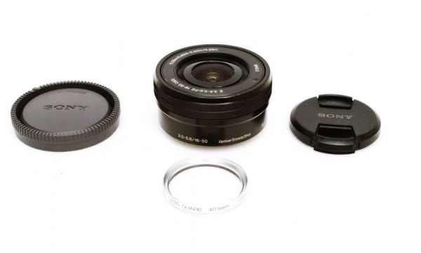 ★美品★SONY ソニー E PZ 16-50mm F3.5-5.6 OSS SELP1650 付属品一式★_画像1