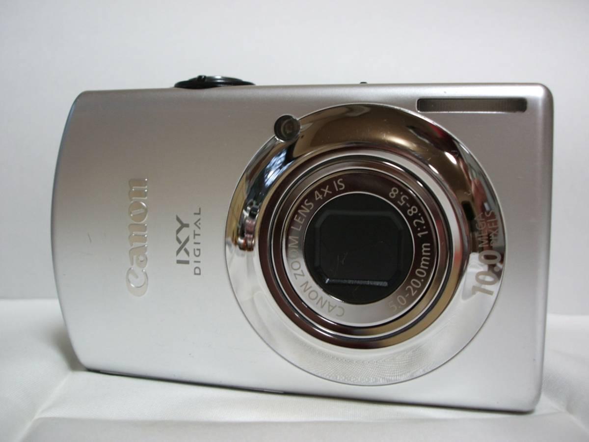 デジカメ Canon IXY DIGITAL 920IS シルバー (10.0メガ) 6288 BT