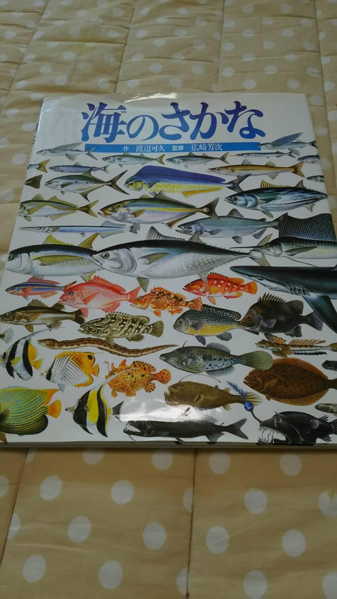 ☆定価1400円☆ 絵本 図鑑 海のさかな 魚_画像1