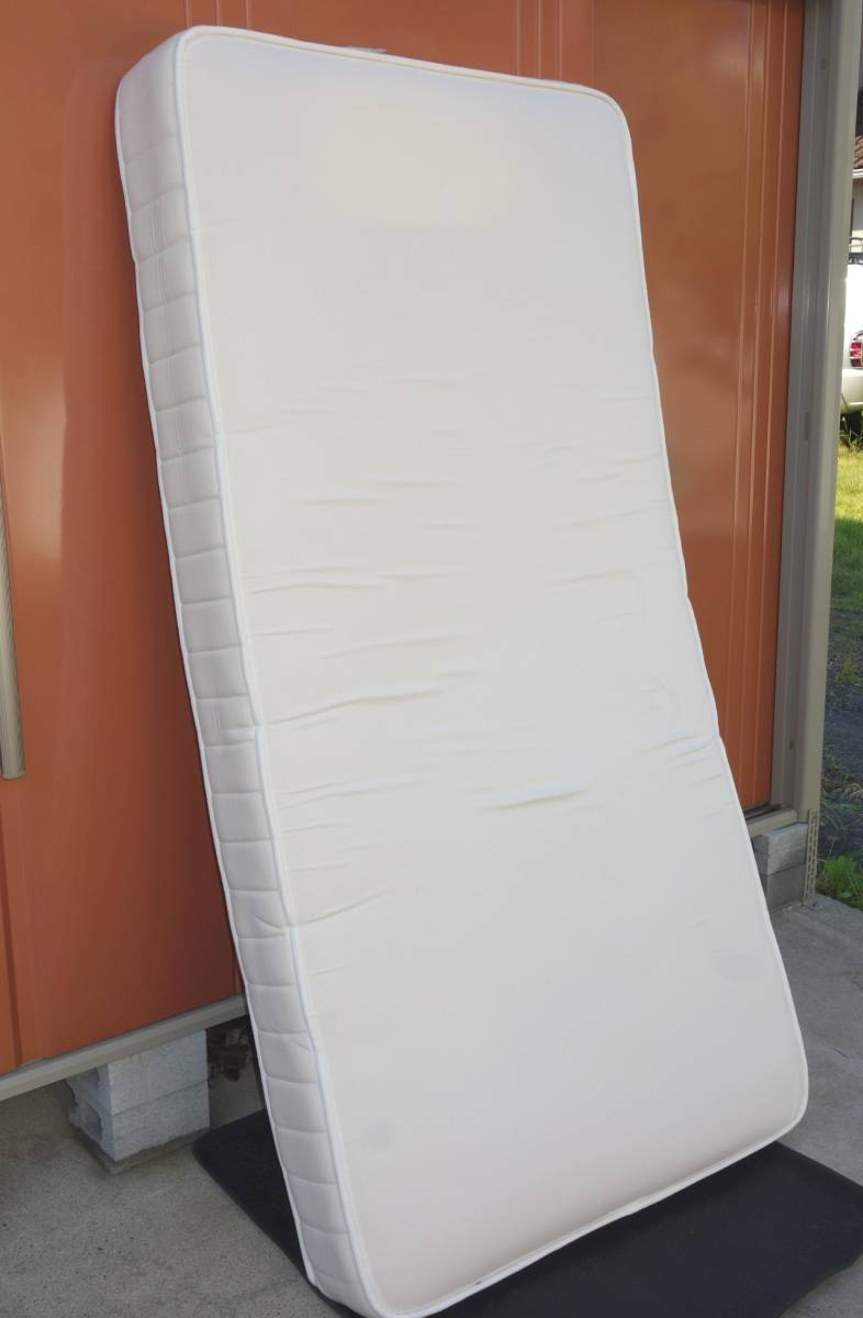 747 美品 無印良品 MUJI 高密度ポケットコイルスプリングマットレス セミダブルサイズ6.5万
