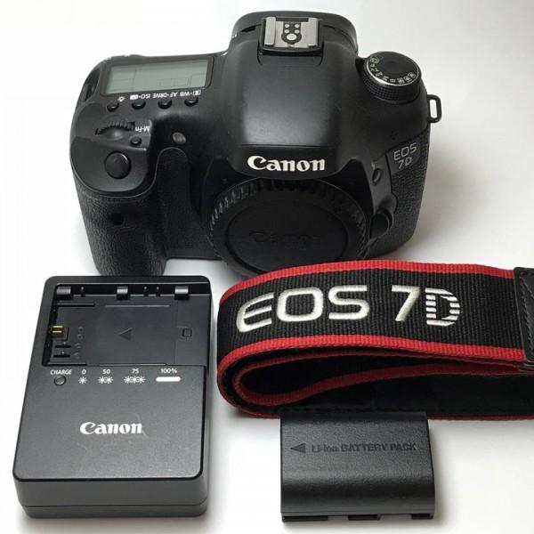 【中古美品】Canon キャノン EOS 7D ボディ 【1円スタート!】