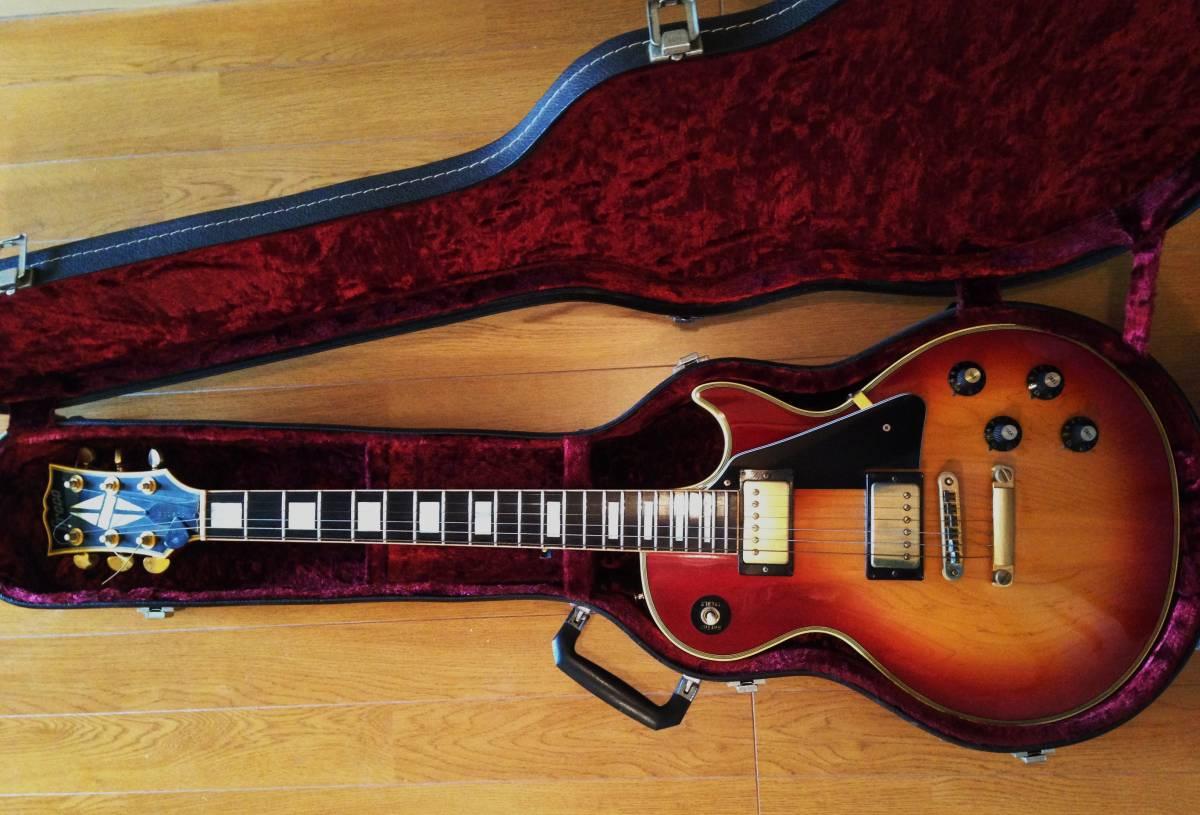 ハードケース(鍵付)付ワンオーナー貴重品!グレコ 国産ヴィンテージ・エレキ・ギター/GRECO EG-1000 レスポールモデル