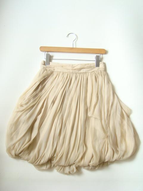 RALPH LAUREN USA製ドレープシルクスカート size4 ラルフローレン_画像1