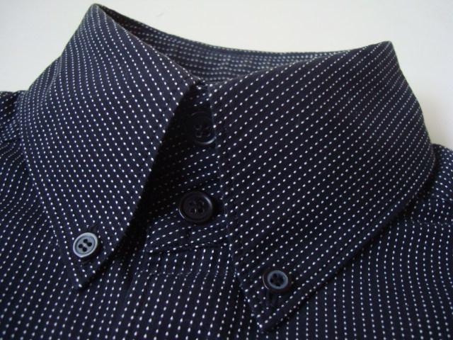 Y`s Yohji Yamamoto ドット柄長袖シャツ size4 ワイズ ヨウジヤマモト_画像4