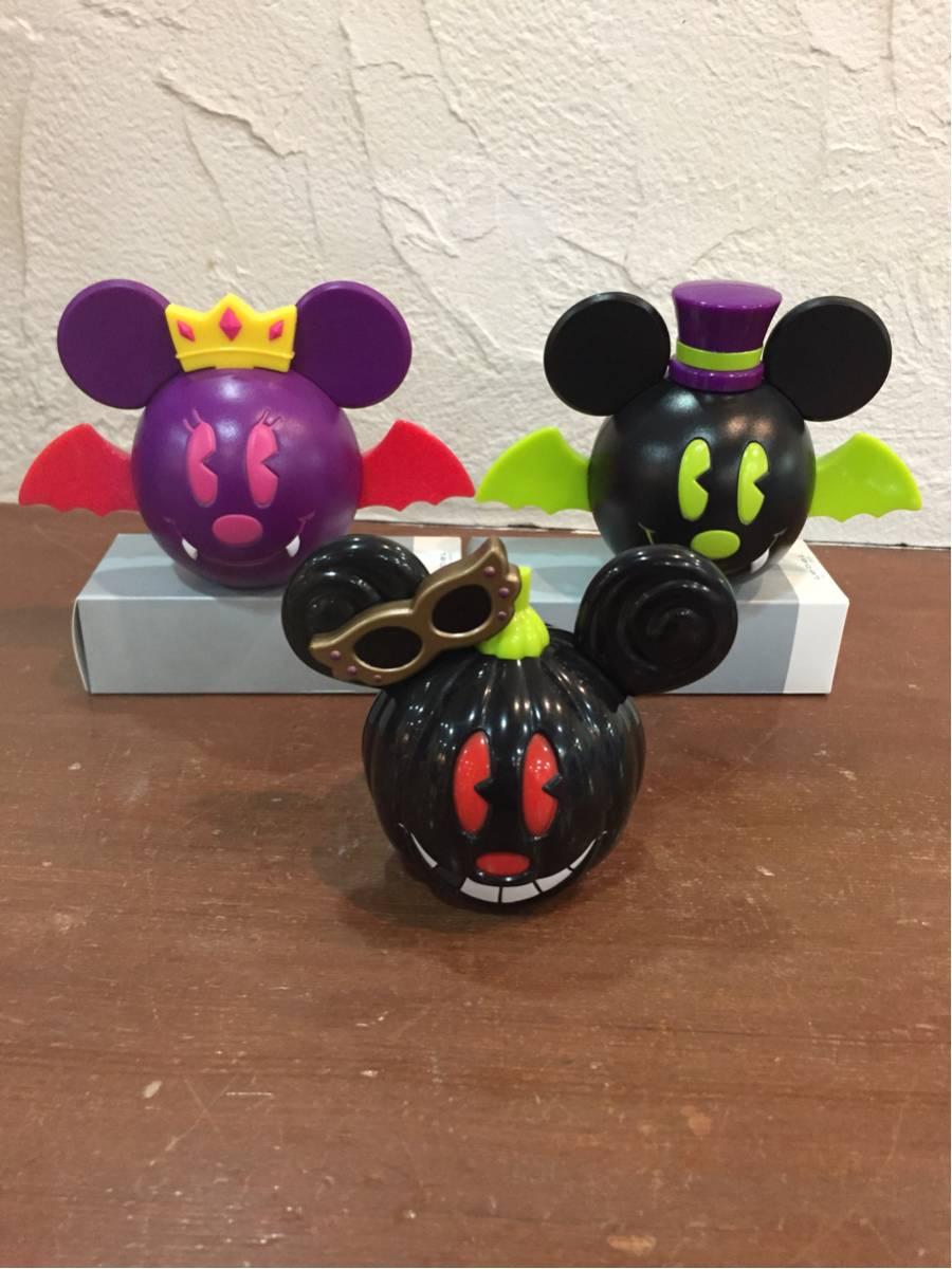 ディズニー ハロウィン ミッキー ミニー フィギュア おもちゃ 置物 ディスプレイ 飾り 3個セット ディズニーグッズの画像