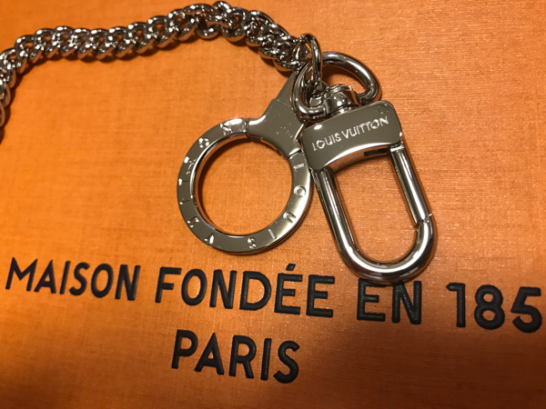 7/1購入 完全正規品 Louis Vuitton Supreme ウォレットチェーン エピ ルイヴィトン 渋谷