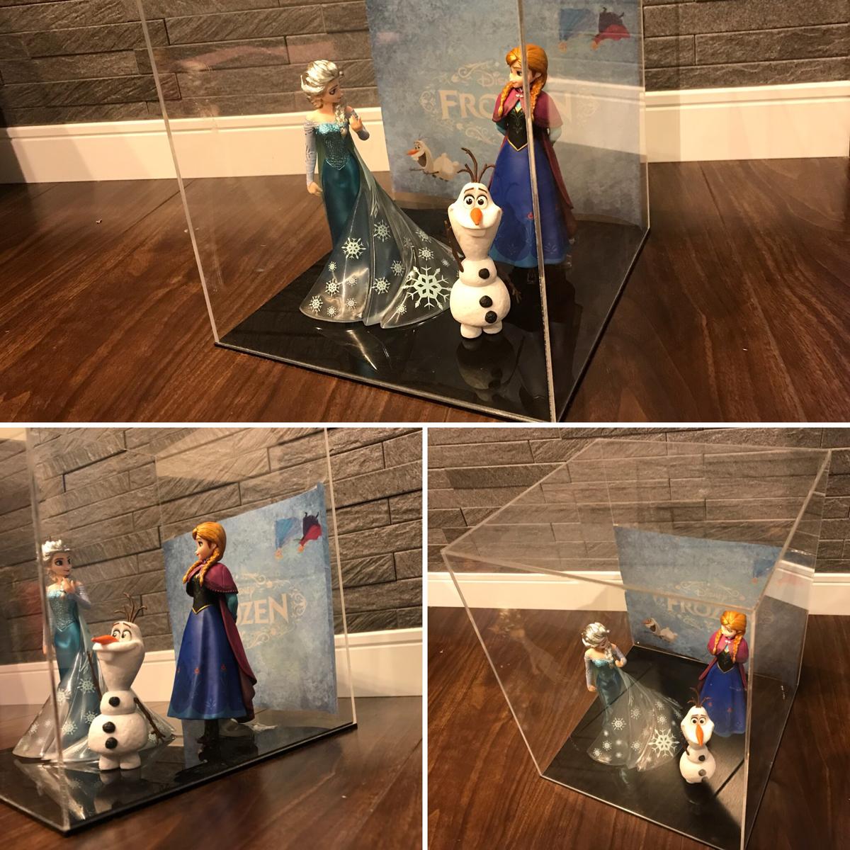 ☆フィギュアーツZERO Frozen Special Box☆アナと雪の女王☆エルサ アナ オラフ Disney☆ケース付き ディズニーグッズの画像