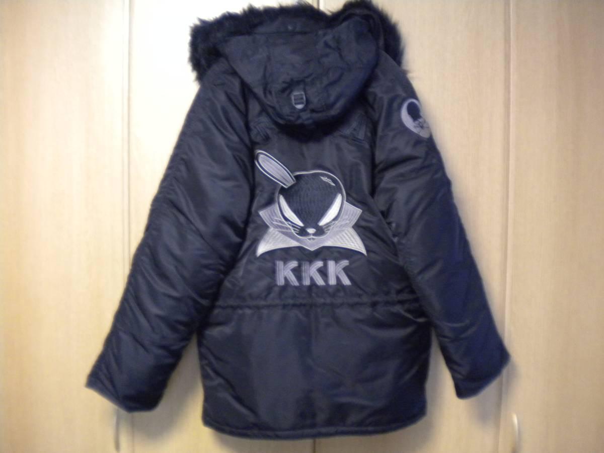 クロップドヘッズ社製 コート ジャケット クローズ×ワースト×武装戦線 KKK デスラビット Lサイズ_画像2
