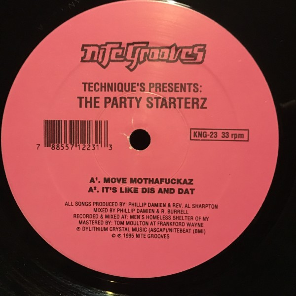 Technique / The Party Starterz (Producer, Mixed By Phillip Damien )_画像1