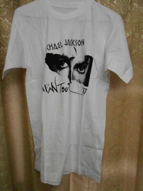 希少レア!Michael Jackson マイケルジャクソン 1987年 ジャパンツアー Tシャツ 未使用
