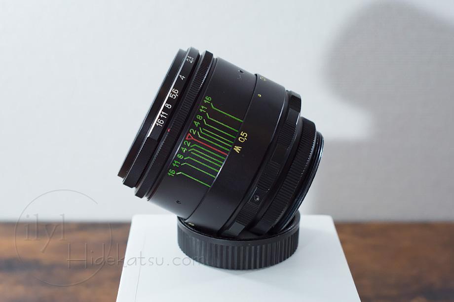 【超美品・写真家がリペア】豪快なボケのヘリオス Helios 44-2 2/58 ソニー用マウント_各社カメラ用に変更できます +おまけ付き 57h_画像6