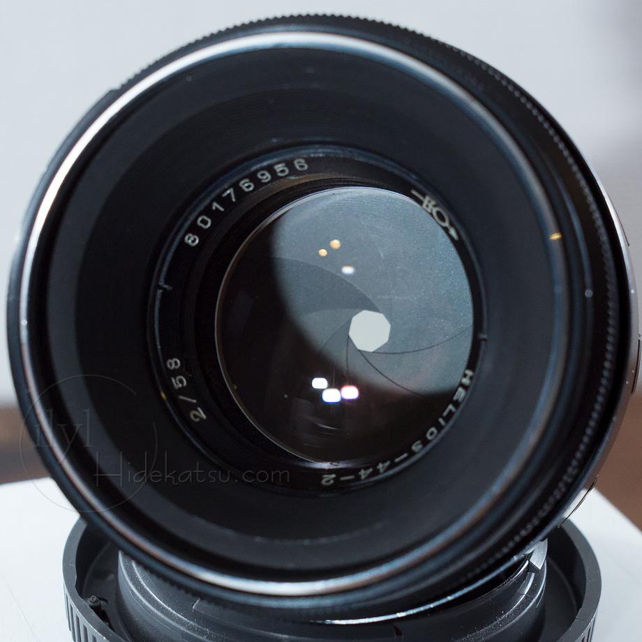 豪快なボケのヘリオス【写真家がリペア】 Helios 44-2 2/58 オリンパスなど用マウント_各社カメラ用に変更できます +おまけ付き 38h_画像2