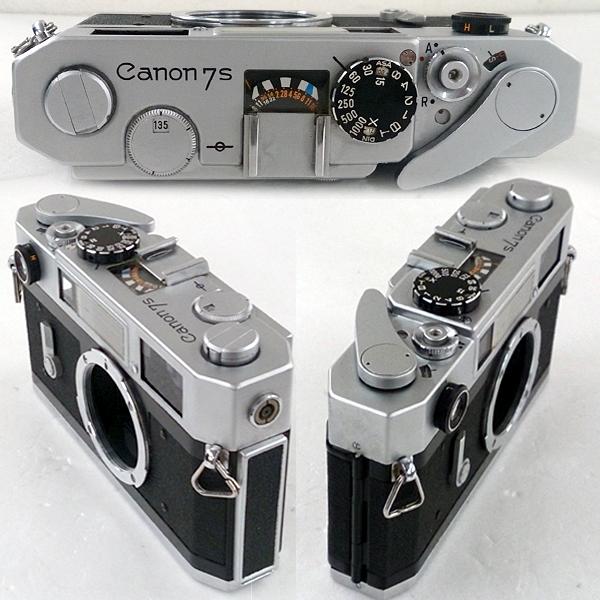 キャノン7s型ボディ Canon7s 動作品 _画像2