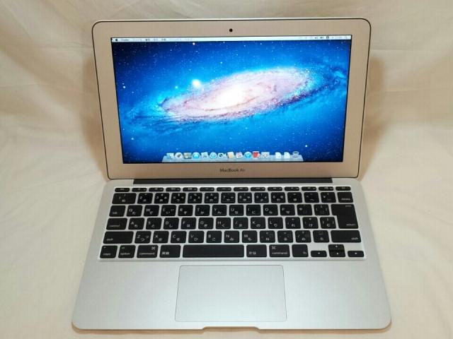 【じゃんぱら札幌南2条店】Apple MacBook Air 11インチ 64GB MC968J/A (Mid 2011)