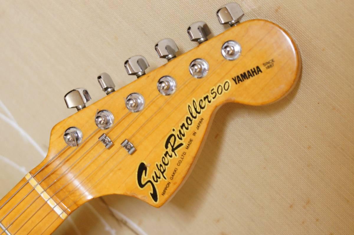 ◆YAMAHA SR-500 材良し 昔はこんな材が使えた 古い物ですが、そこそこきれいです◆_画像3