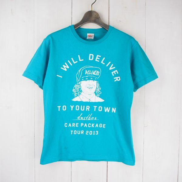 ダストボックス dustbox CARE PACK AGE TOUR 2013 バンド ツアーTシャツ(M)