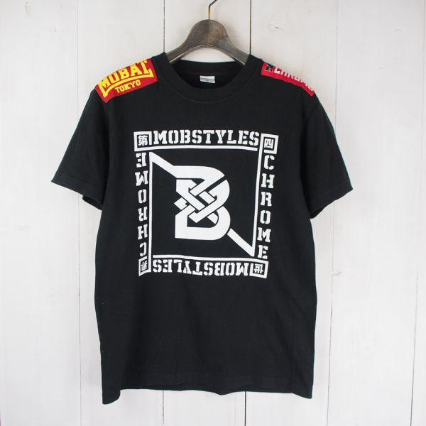 モブスタイルMOBSTYLES タワーレコードコラボBOWLINE2015 STAFFTシャツ(M)ブラック