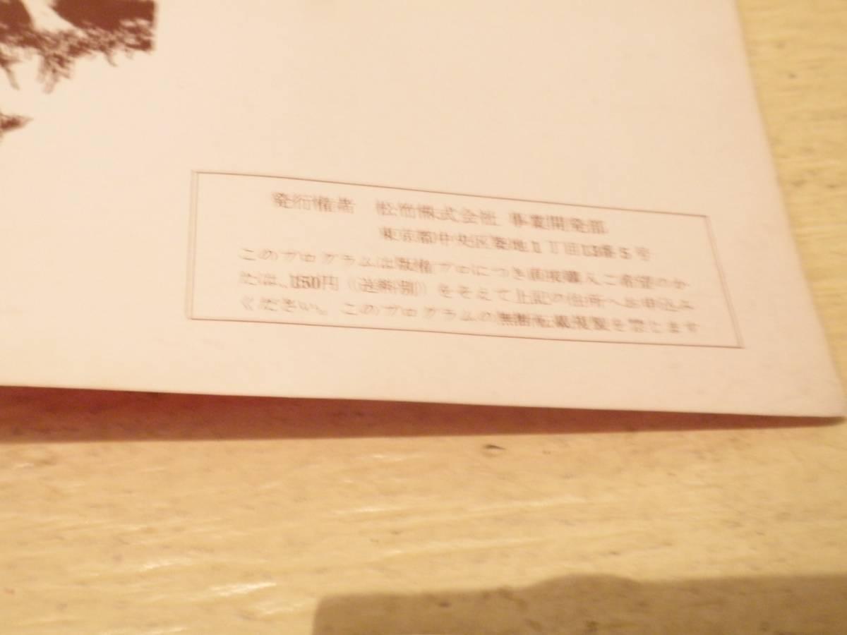 映画 パンフレット パンフ 大脱走_画像4