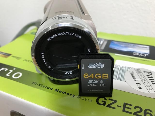 ★超美品★JVC Everio GZ-E265 ピンクゴールド★64Gメモリーカード付き_画像3