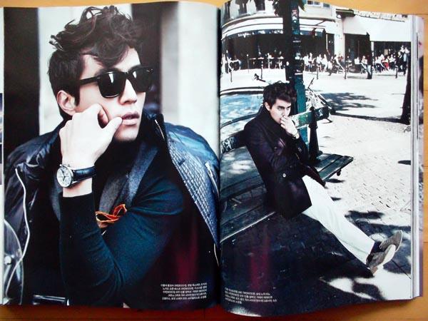 [イ・ドンウク] 韓国雑誌切り抜き8P/2011年11月号